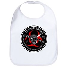 Zombie Squad 3 Ring Patch outlined Bib