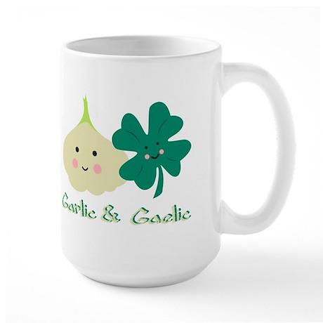 smaller garlic gaelic2 Mugs