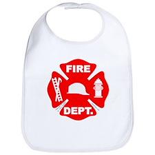 Fire Depart. Emblem Bib