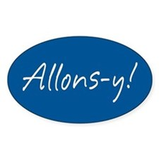 French Allons-y Decal