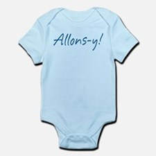French Allons-y Infant Bodysuit