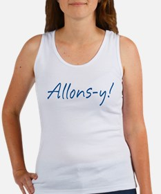 French Allons-y Women's Tank Top