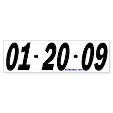 Just the Date Bumper Car Sticker