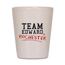 Team Edward Rochester Shot Glass