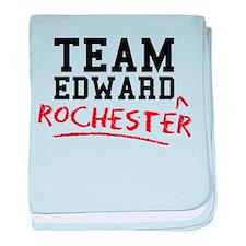 Team Edward Rochester baby blanket