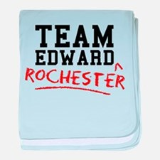 Team Edward Rochester baby blanket