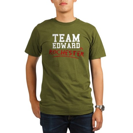Team Edward Rochester Organic Men's T-Shirt (dark)