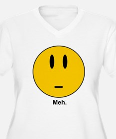 meh Smiley Face T-Shirt