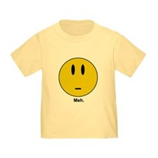 meh Smiley Face T