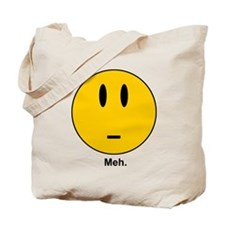 meh Smiley Face Tote Bag