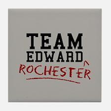 Team Edward Rochester Tile Coaster