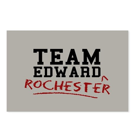 Team Edward Rochester Postcards (Package of 8)