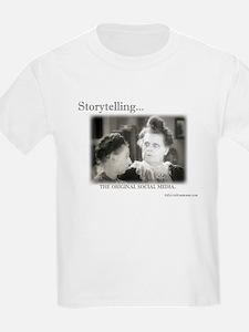 Storytelling...The Original Social Media T-Shirt