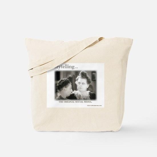 Storytelling...The Original Social Media Tote Bag