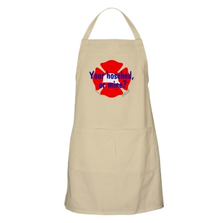Your Hosebed or Mine? BBQ Apron