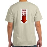 THIS IS THE PLACE! Ash Grey T-Shirt
