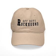 Off Duty Rockhound Baseball Cap