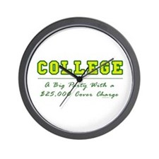 Cover Charge Wall Clock