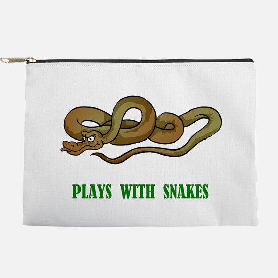 plays-with-snakes.t... Makeup Pouch