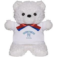 CUSTOM TEXT Besties (blue) Teddy Bear