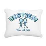 Bestie Rectangle Canvas Pillows
