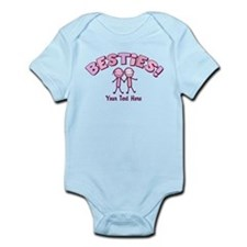 CUSTOM TEXT Besties (pink) Infant Bodysuit