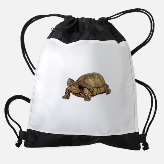 FIN-box-turtle.png Drawstring Bag