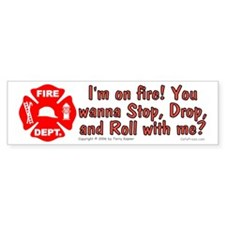 I'm on fire! Bumper Bumper Sticker