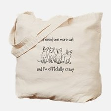 Just one more cat Tote Bag