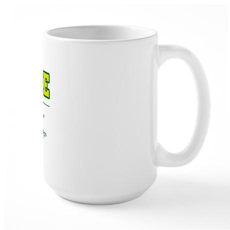 Cover Charge Large Mug