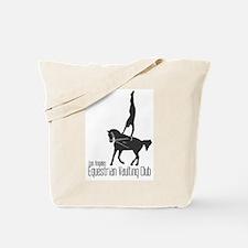 Funny Vaulting Tote Bag