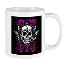 Grunge Skull Mug
