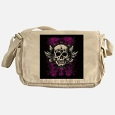 Grunge Skull Messenger Bag
