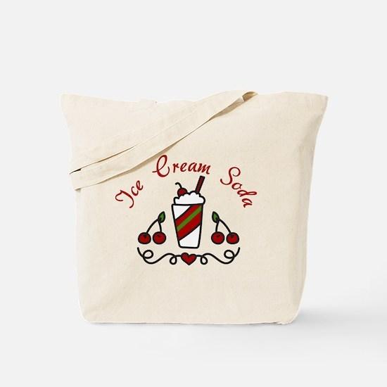 Ice Cream Soda Tote Bag