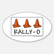 Rally-O Oval Decal