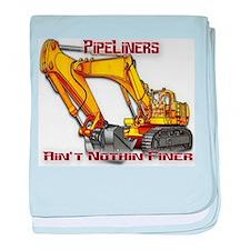 Pipeliners baby blanket