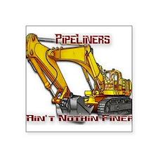 "Pipeliners Square Sticker 3"" x 3"""
