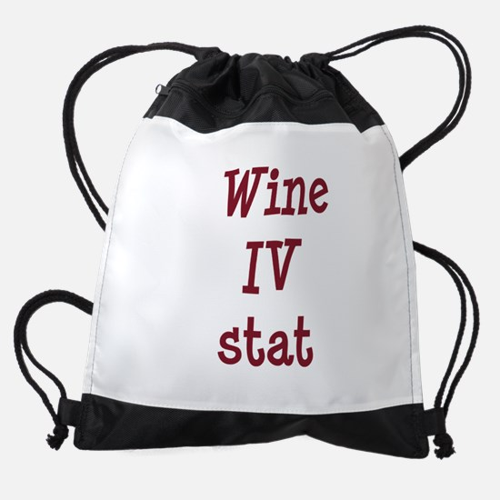 FIN-wine-iv-stat-TRANS.png Drawstring Bag