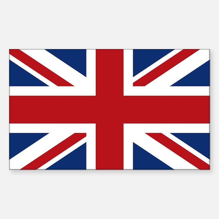 United Kingdom Union Jack Flag Decal