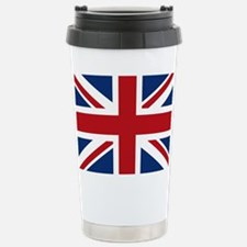 United Kingdom Union Jack Flag Travel Mug