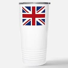 United Kingdom Union Jack Flag Travel Mug