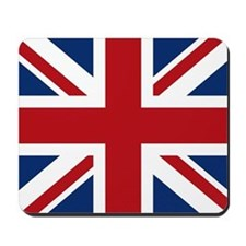 United Kingdom Union Jack Flag Mousepad