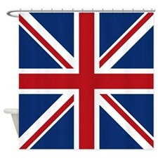 Funny Union jack flags Shower Curtain