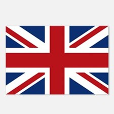 United Kingdom Union Jack Flag Postcards (Package