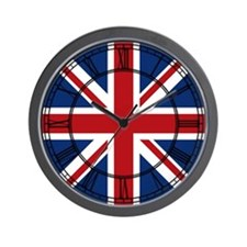 United Kingdom Union Jack Flag Wall Clock