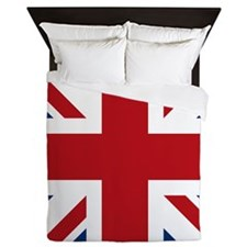 Cool British flag Queen Duvet