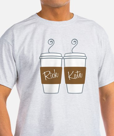 Castle Morning Coffee Cups T-Shirt