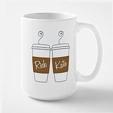 Castle Morning Coffee Cups Large Mug