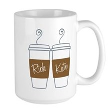 Castle Morning Coffee Cups Large Mug