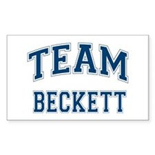 Castle Team Beckett Sticker (Rectangle)